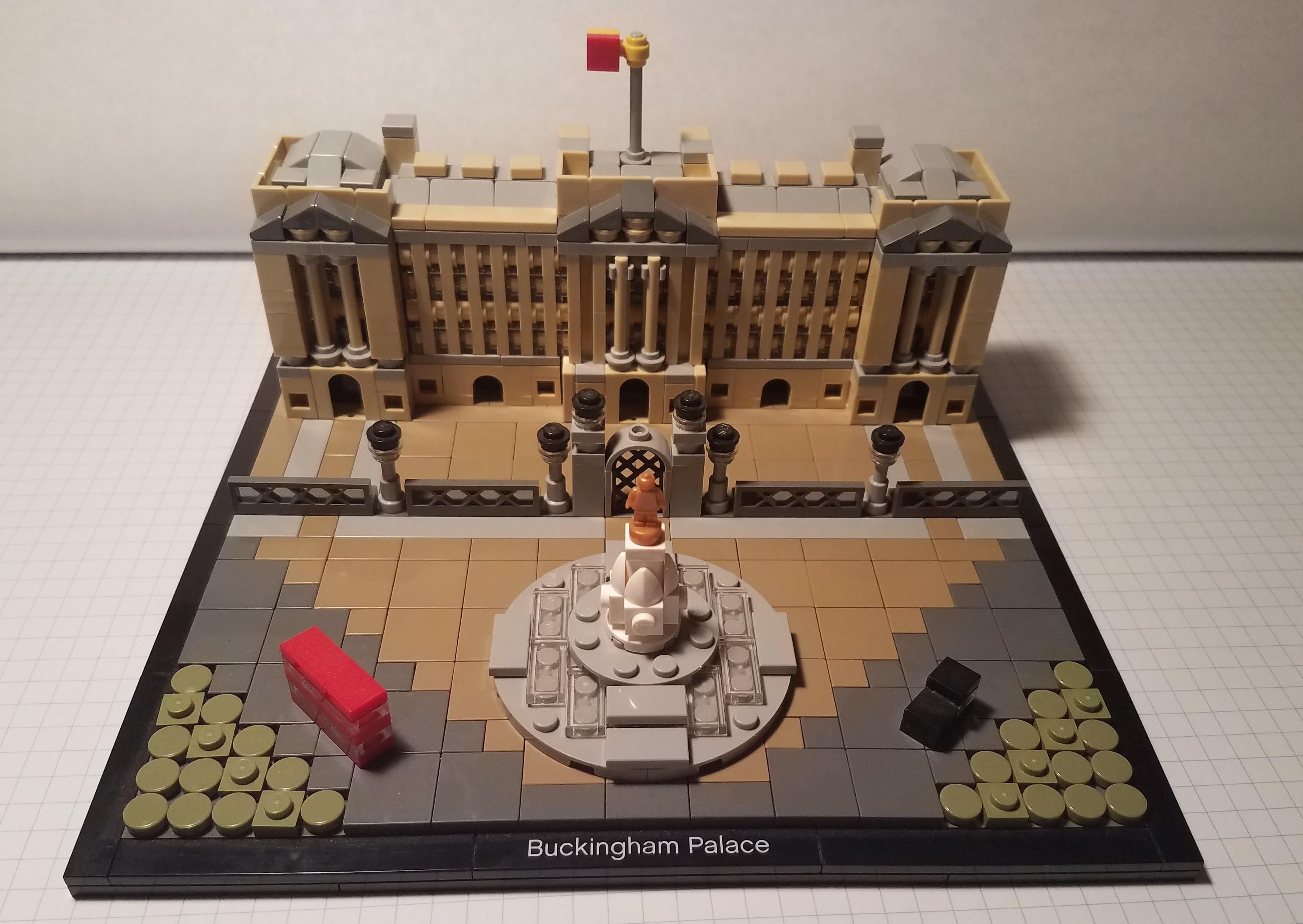 LEGO LEGO Architecture Buckingham Palace 21029 W