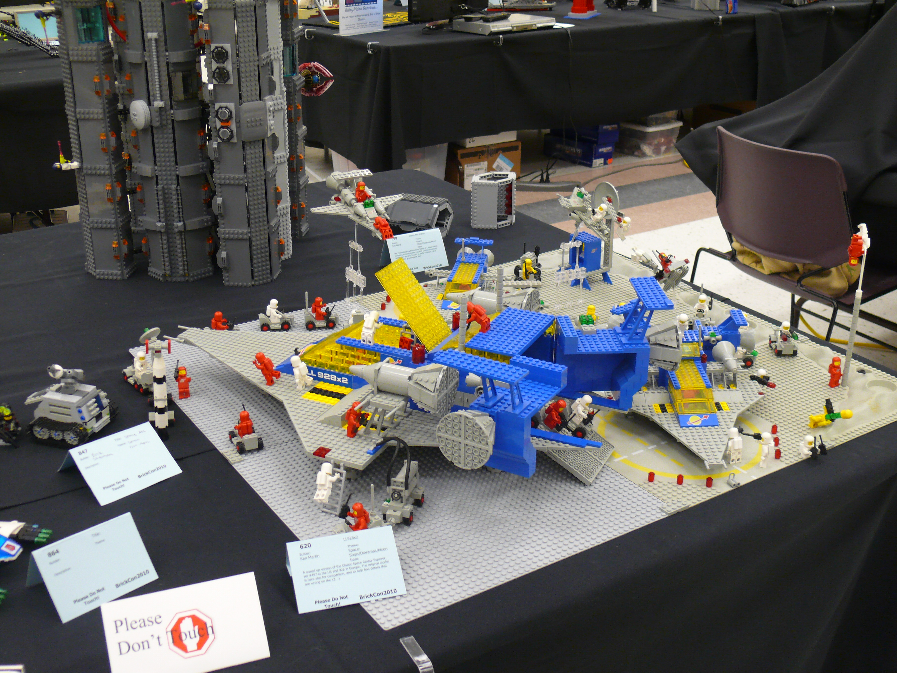 Brick Builder Lego Creator Avion Voiture Et Robot Bleu