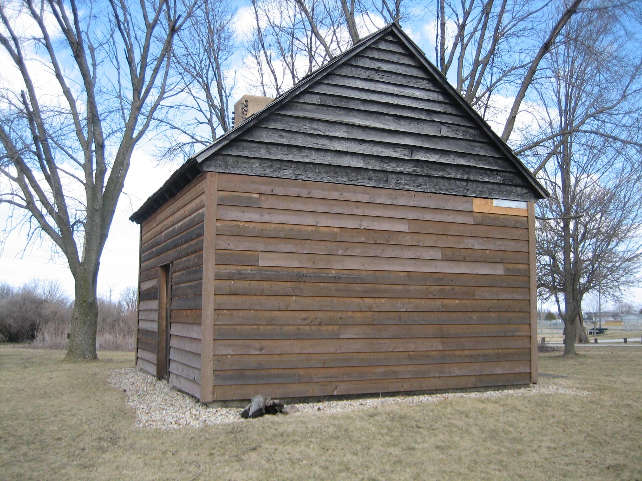 John Patton Log Cabin