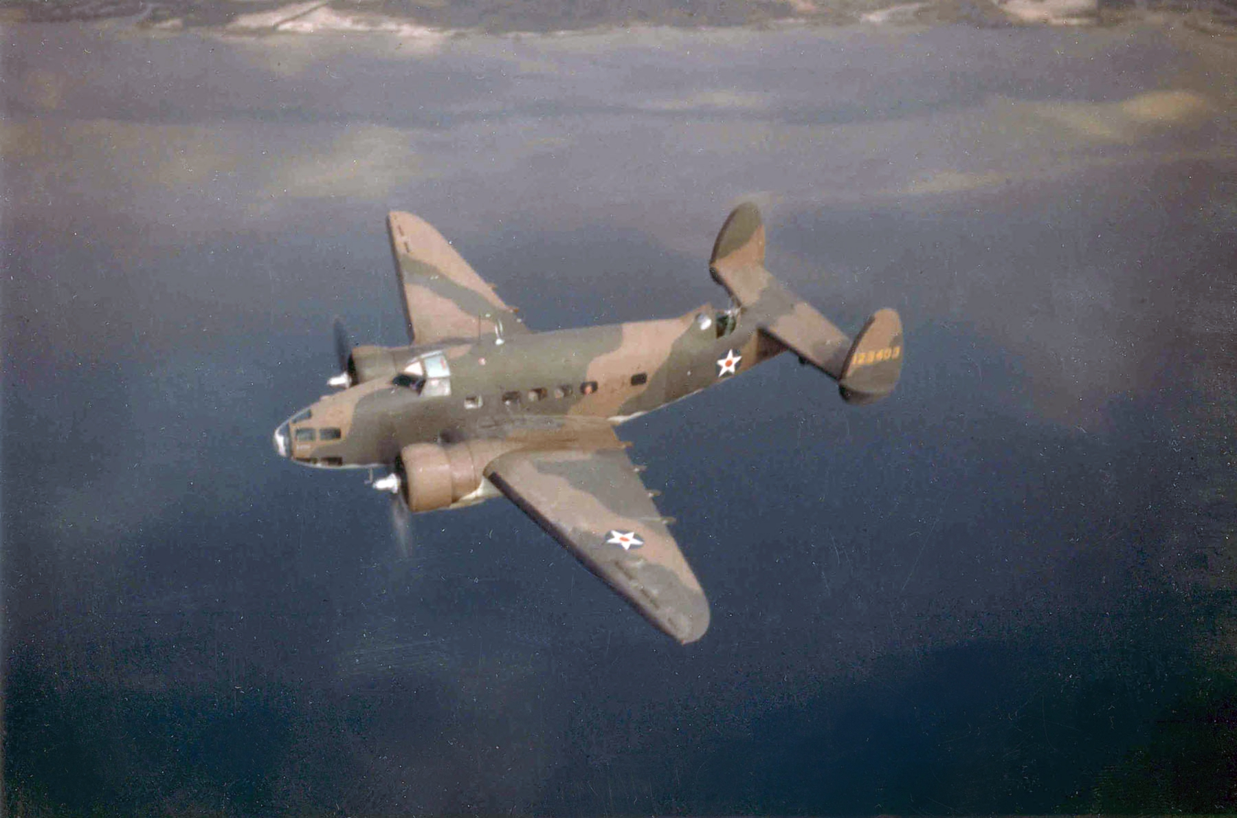 July's Jumpin' Bumpin' Rockin' Run! Bombing Run! Lockheed_A-29_Hudson_USAAF_in_flight_c1941