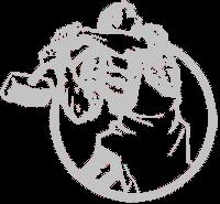 Logo de la troisième Internationale.