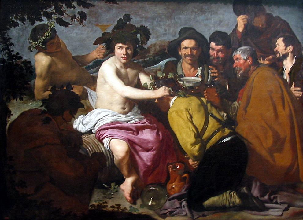 File:Los borrachos o el triunfo de Baco 1629 Velázquez.jpg ...