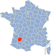 Karinan ning Lot-et-Garonne king France