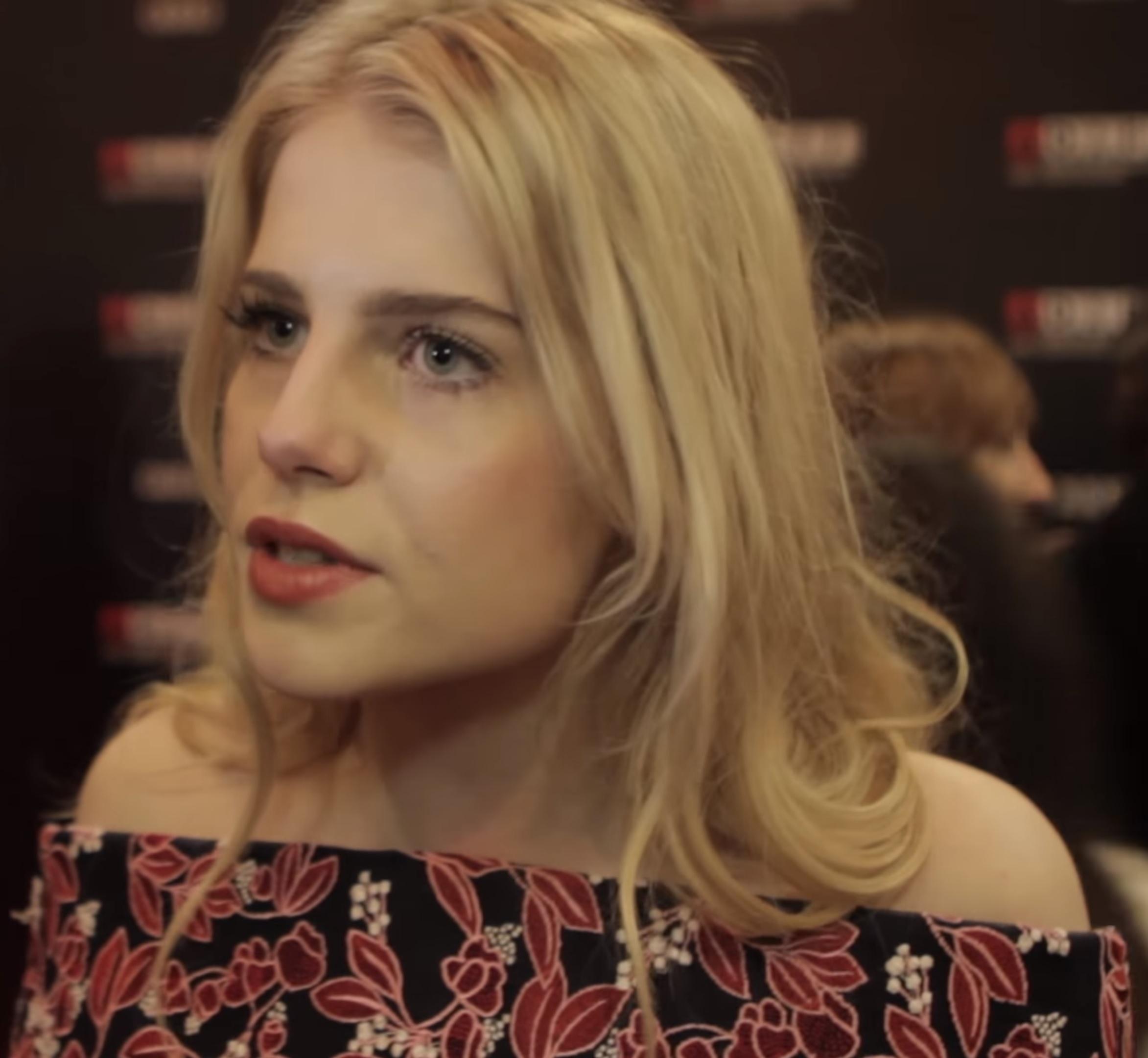 File:Lucy Boynton at Dublin International Film Festival.jpg
