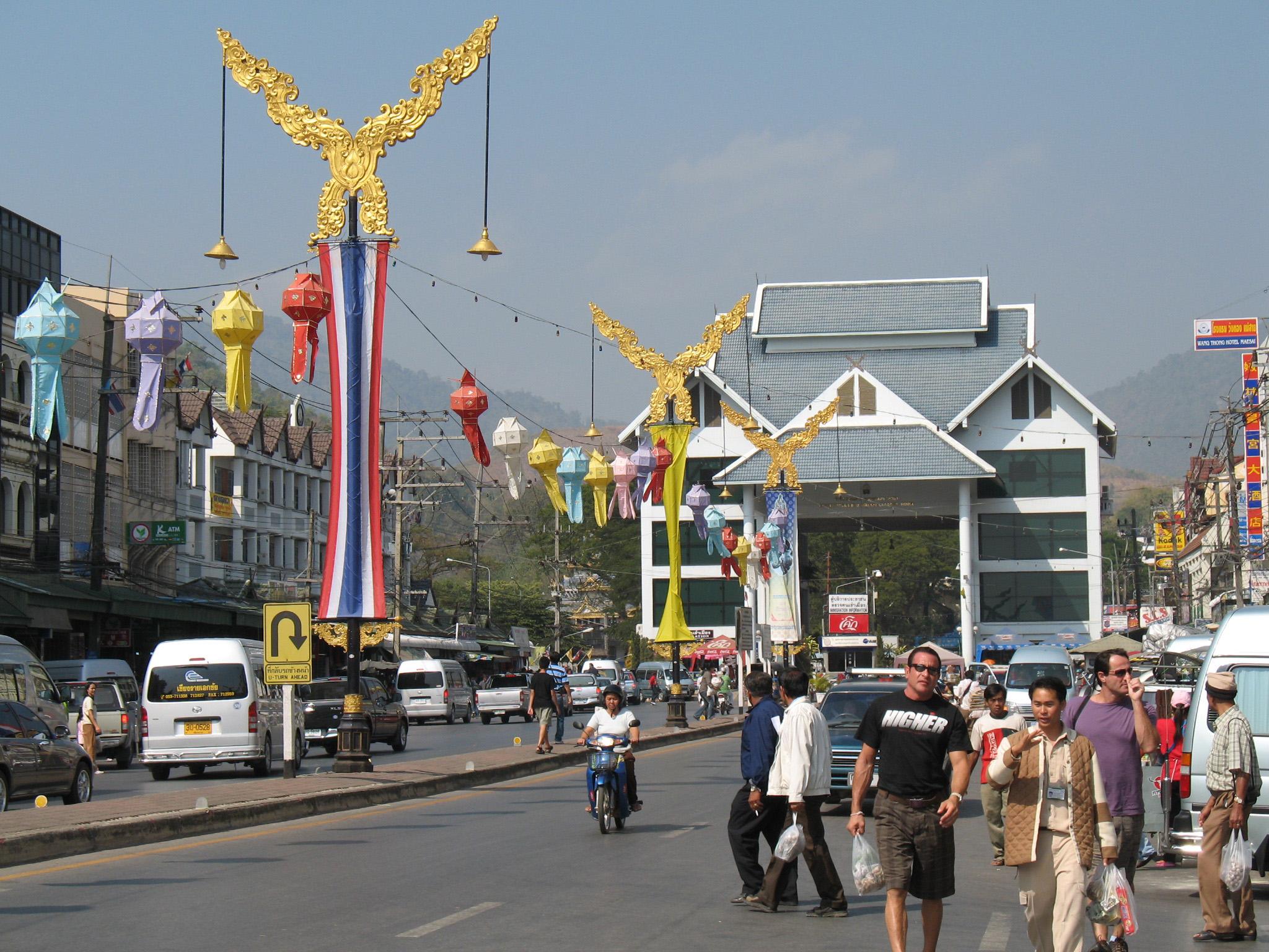 Mae Sai (Chiang Rai) Thailand  city photos : Mae Sai Pass Mae Sai, Thailand