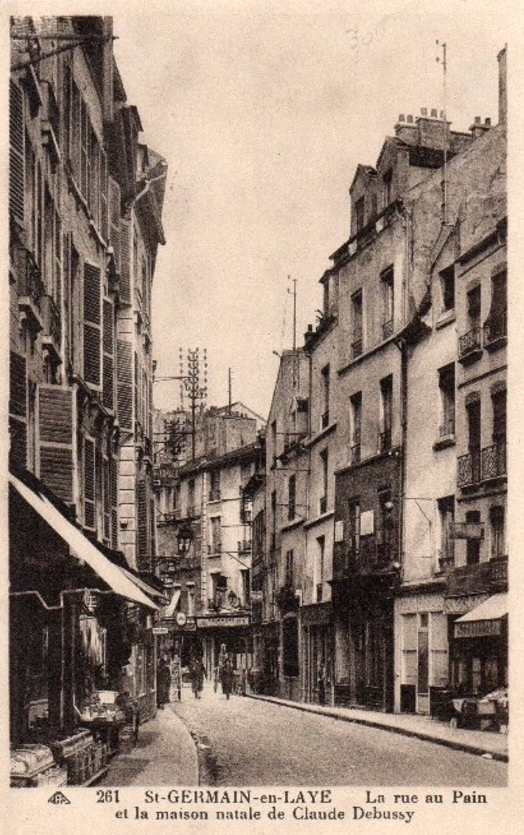 Rue au Pain, [[Saint-Germain-en-Laye
