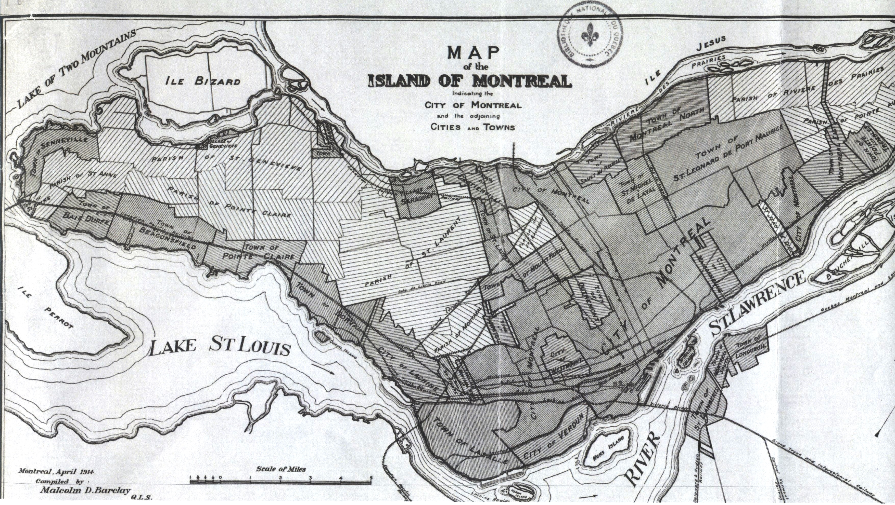 File:Map of the Island of Montreal - 1914.jpg - Wikimedia Commons