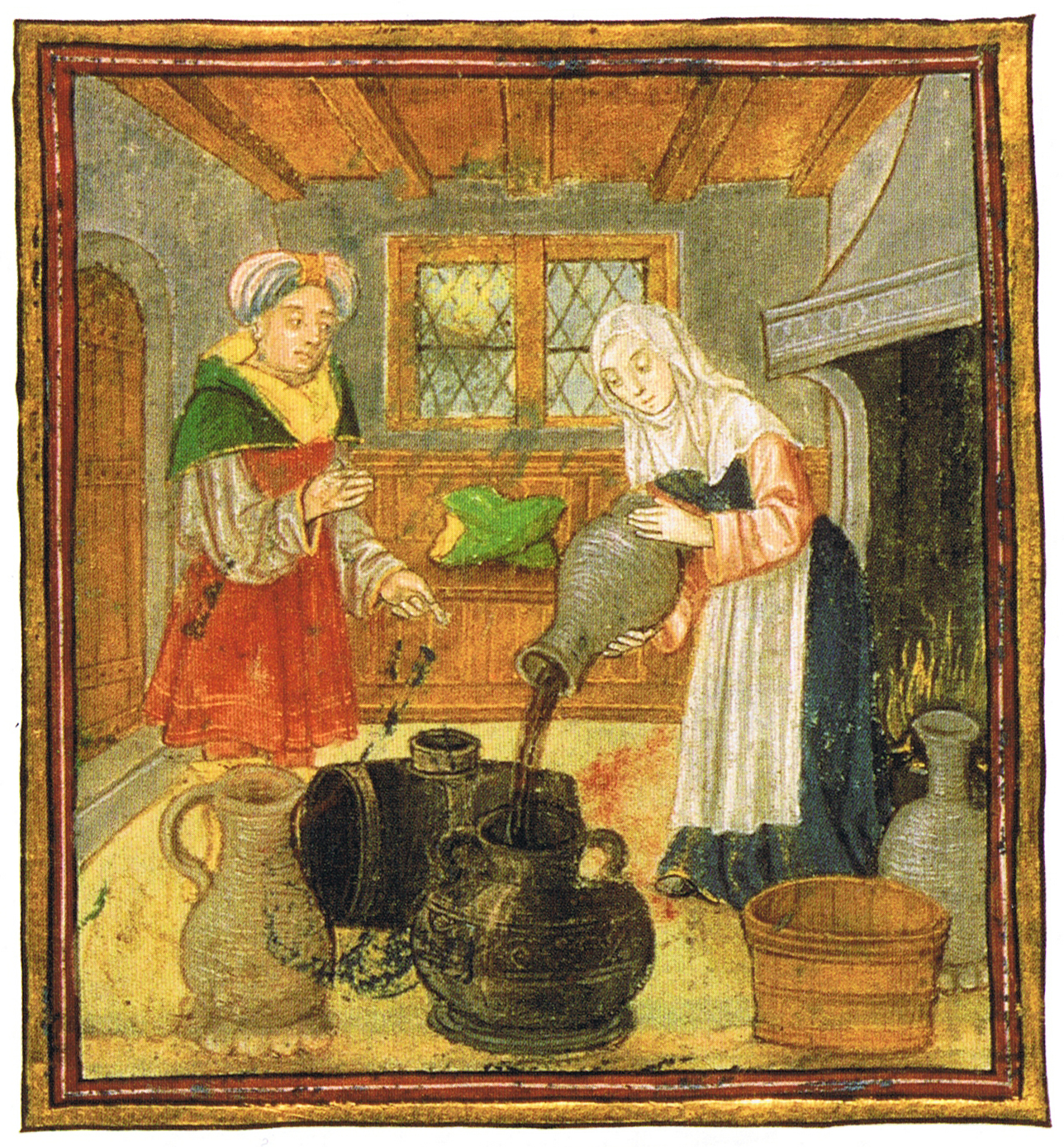 File medieval wine wikipedia for Art culture and cuisine ancient and medieval gastronomy