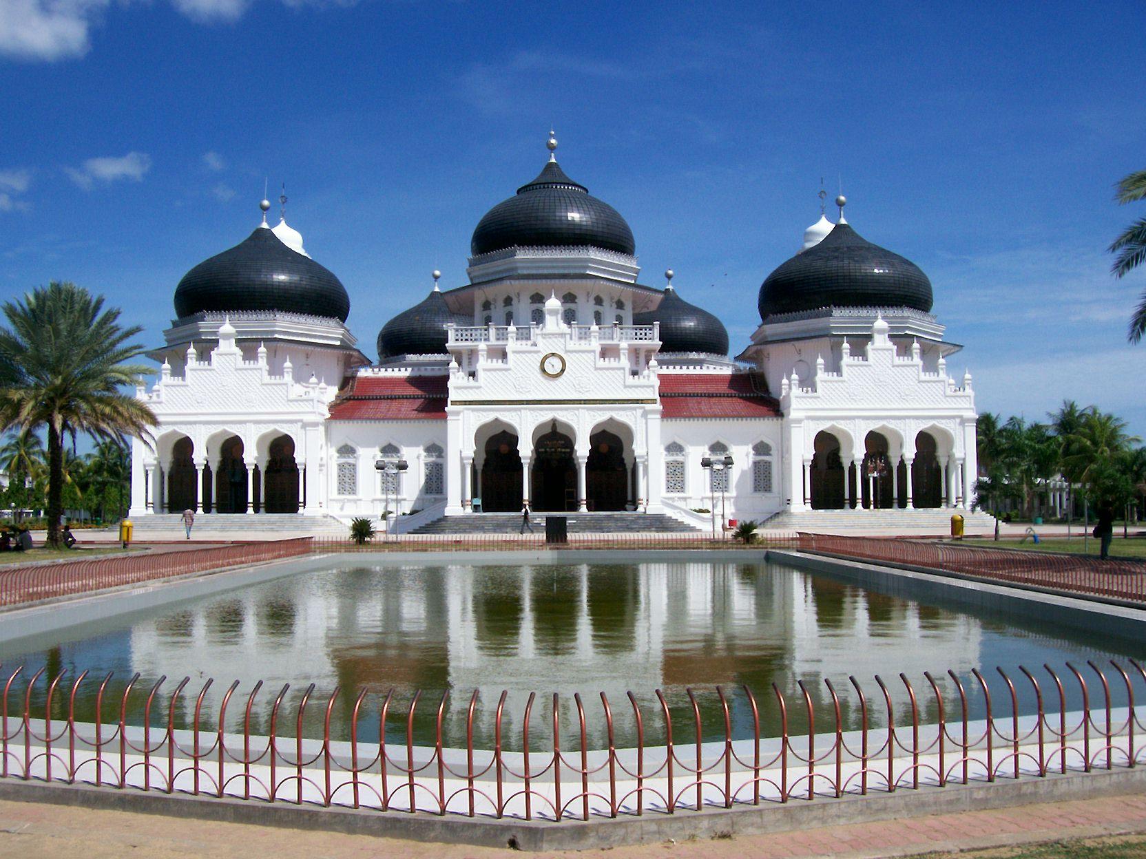 Masjid Raya Baiturrahman, Aceh, NAD,
