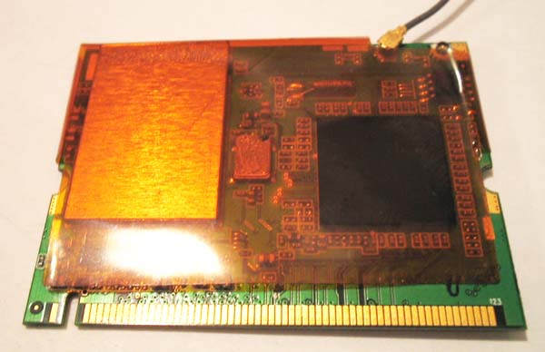 Mini PCI Wi-Fi card Type IIIB