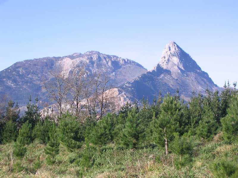 Depiction of Parque natural de Urkiola
