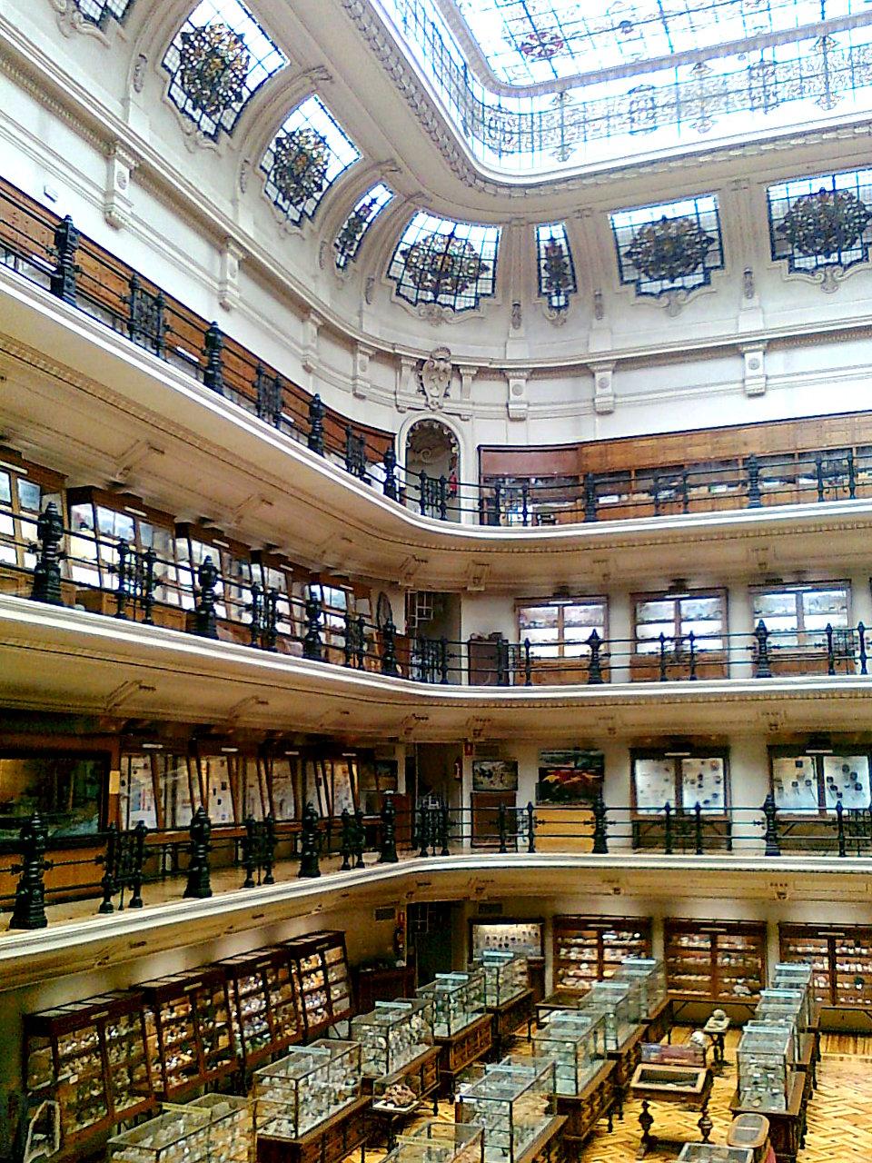 Museo geominero madrid wikipedia la enciclopedia libre for Direccion madrid espana