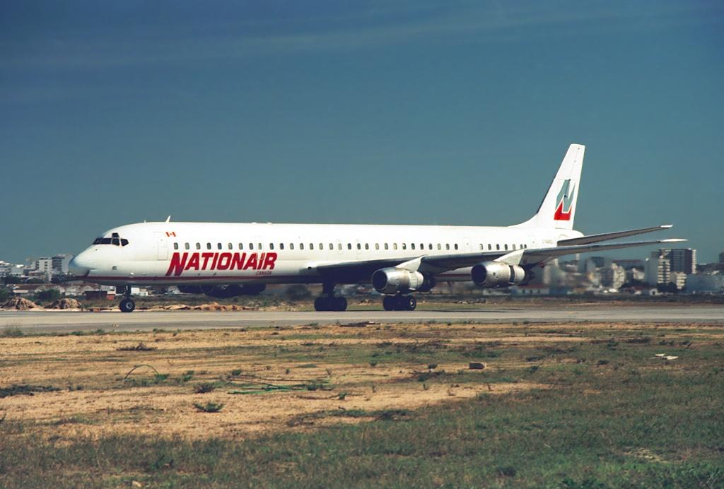 Nationair DC-8-61 C-GMXQ FAO C Accident At