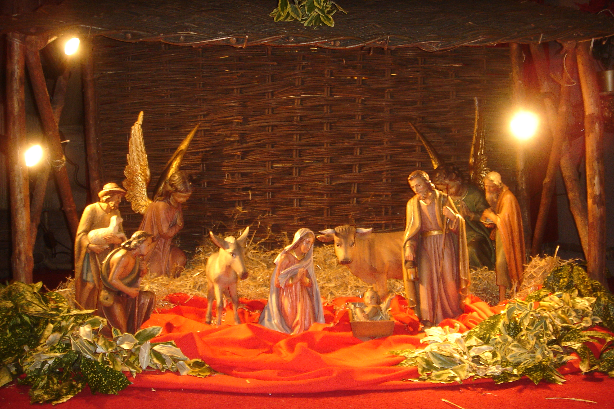 Description Nativity scene Church of Our Lady and the English Martyrs ...