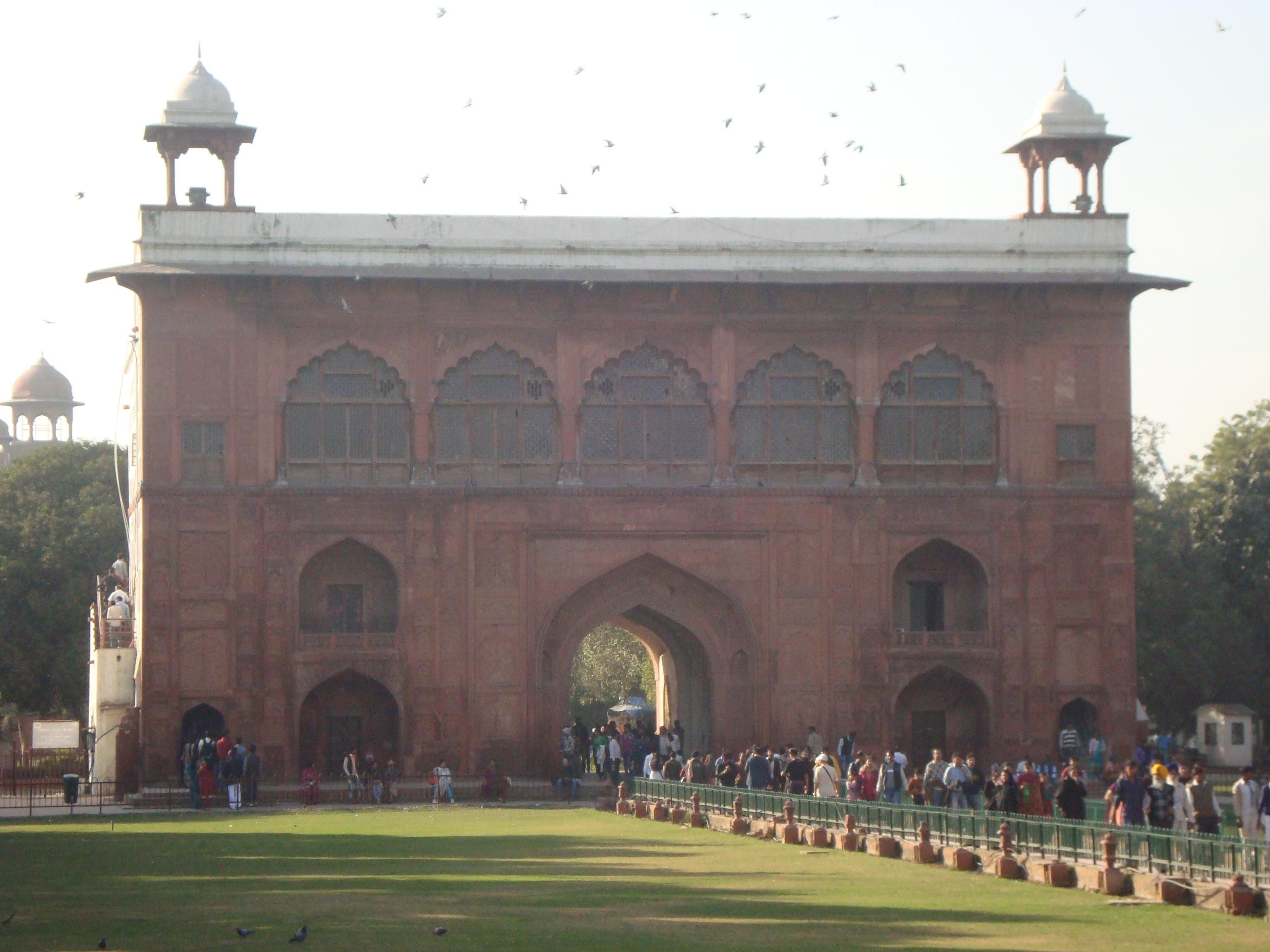 File Naubat Khana Red Fort Delhi View From Inside 01