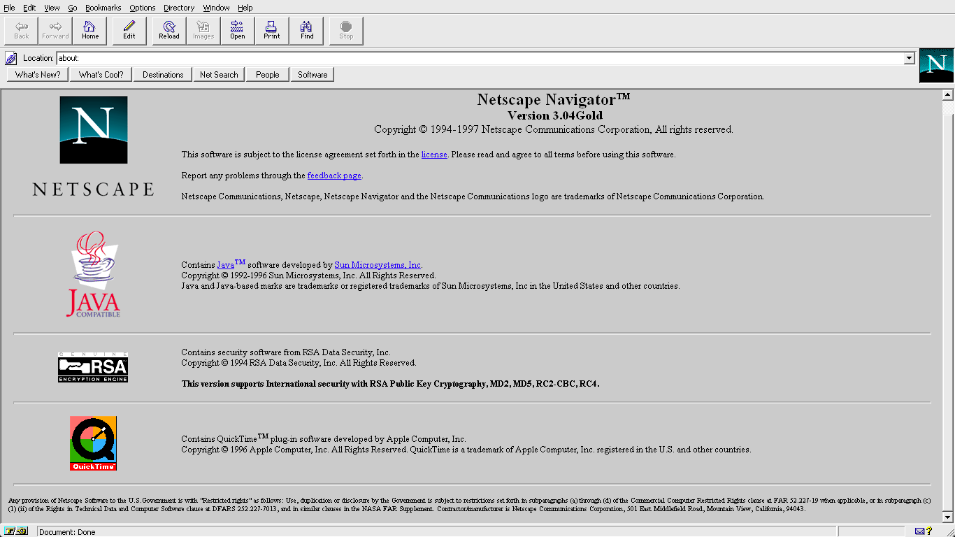 Netscape dating