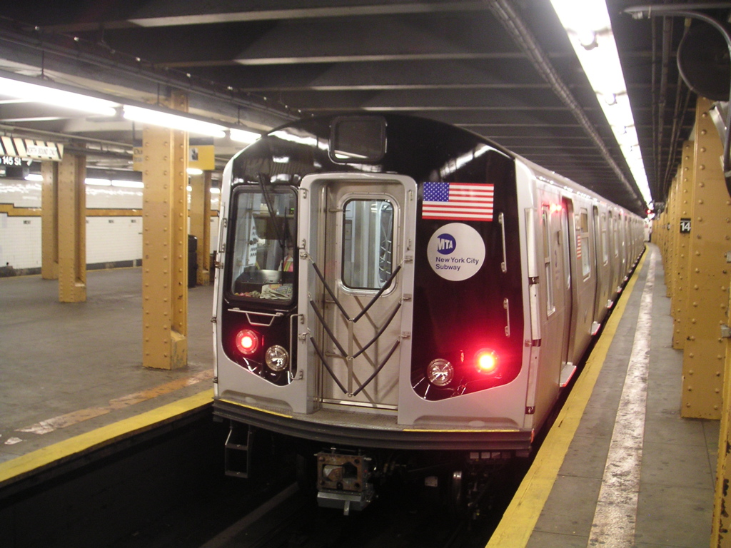 Subway train nyc video