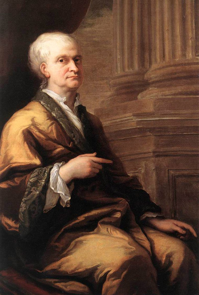 isaac newton  isaac newton in old age in 1712 portrait by sir james thornhill