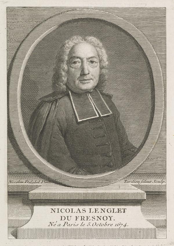 Picture of Nicolas Lenglet Du Fresnoy