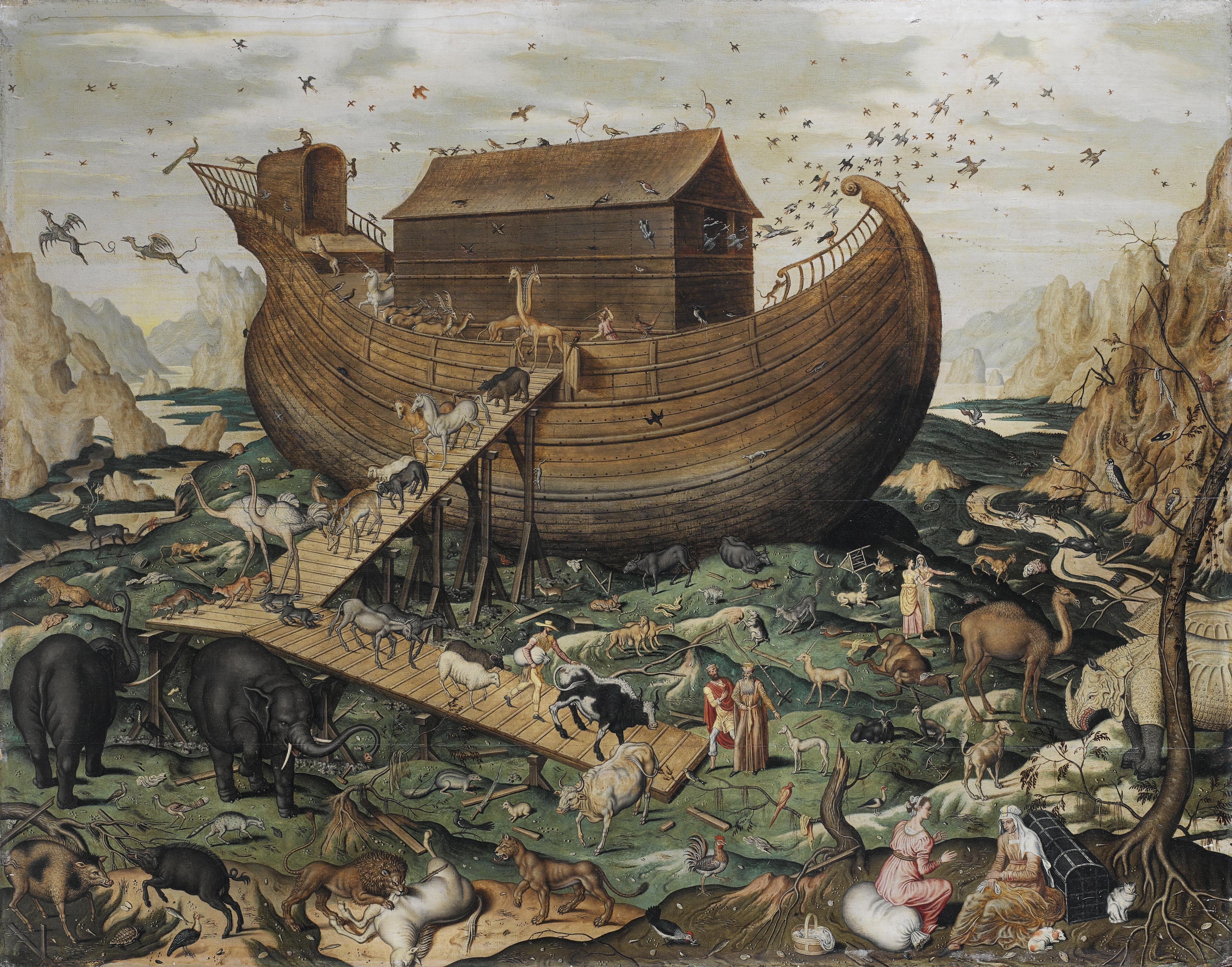 The Lord Told Noah To Build Him an Ark-y Ark-y