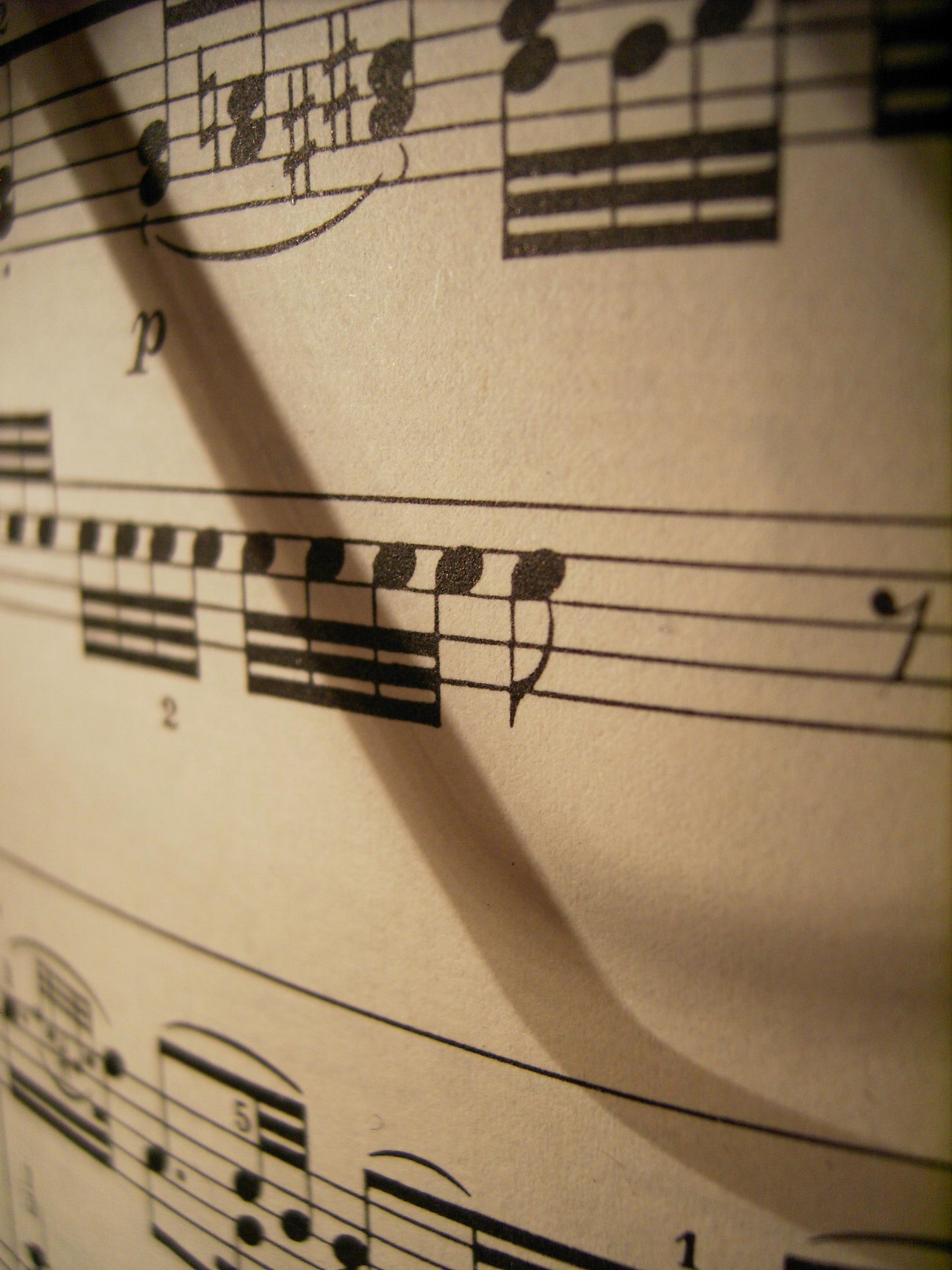 Отрывистая игра пианиста