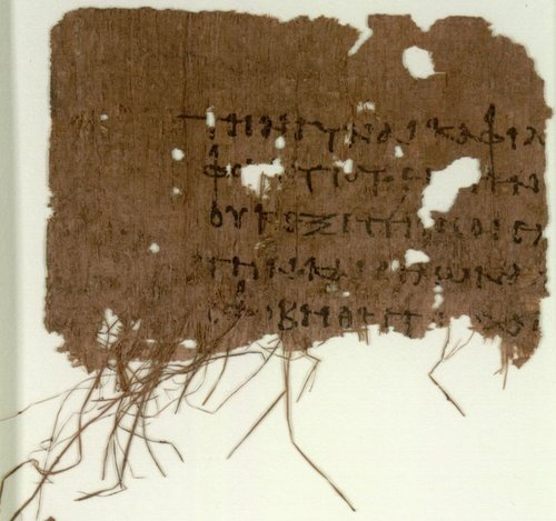 carbon 14 dating of papyrus fragments