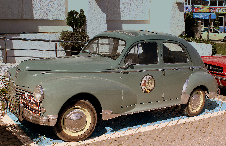 File:PEUGEOT 203 RALLY CAR(1950)AT TANGER MOROCCO APRIL 2013 ...