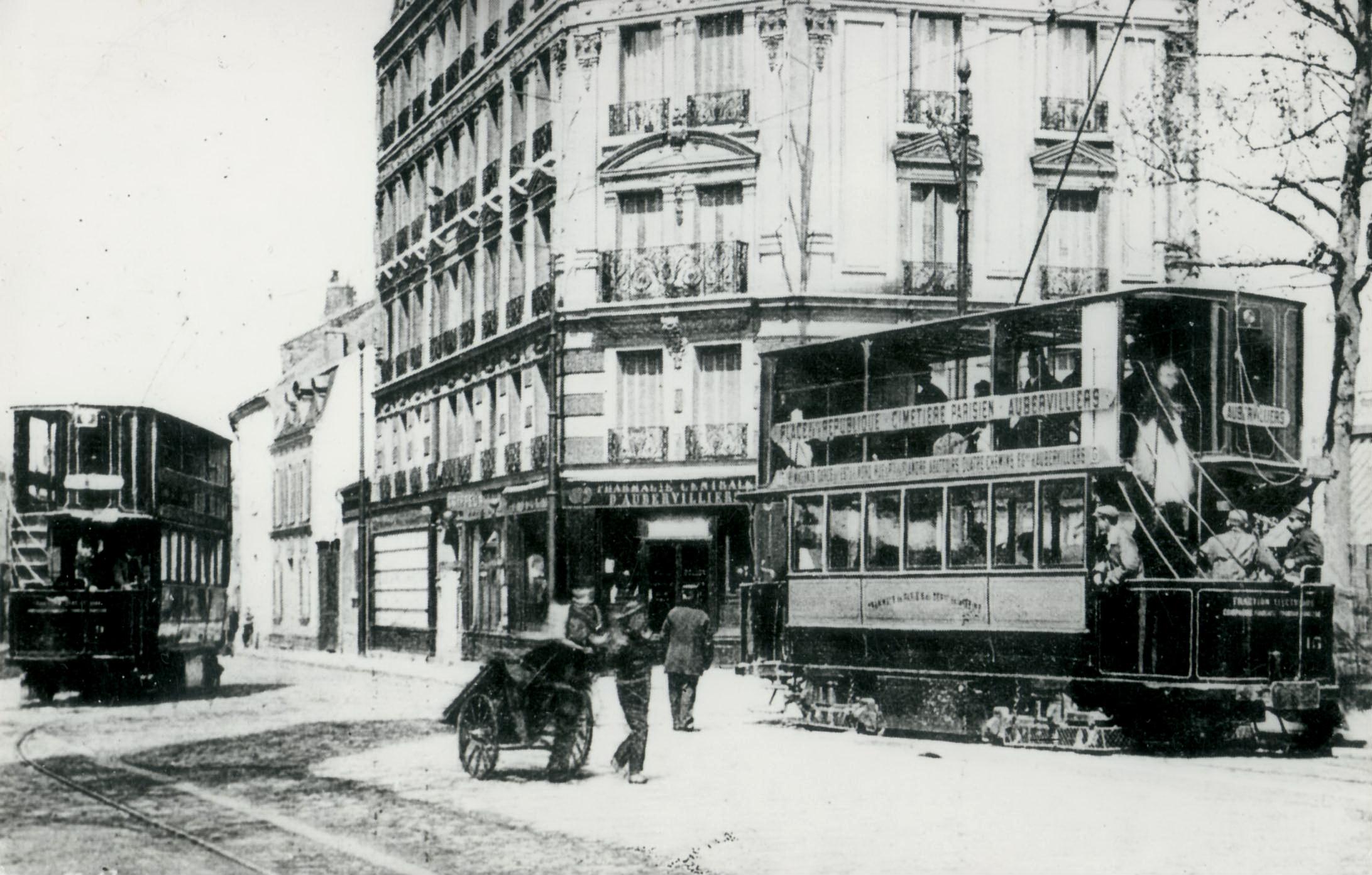 Aubervilliers wikiwand - Porte d aubervilliers plan ...