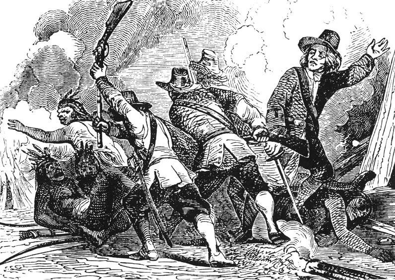 Image from Pequot war, Library of Congress