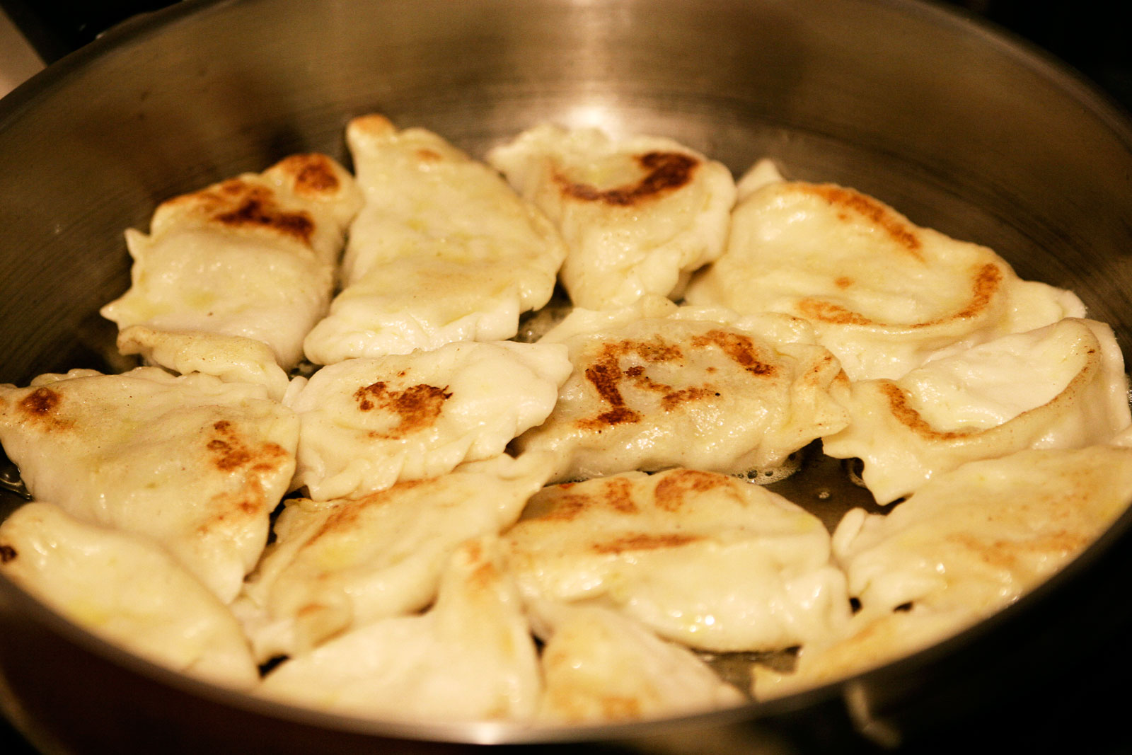 potato and goat cheese pierogi pierogi with potato filling and brown ...