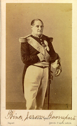 Jerome Bonaparte Pierson - Jerome Bonaparte.jpg