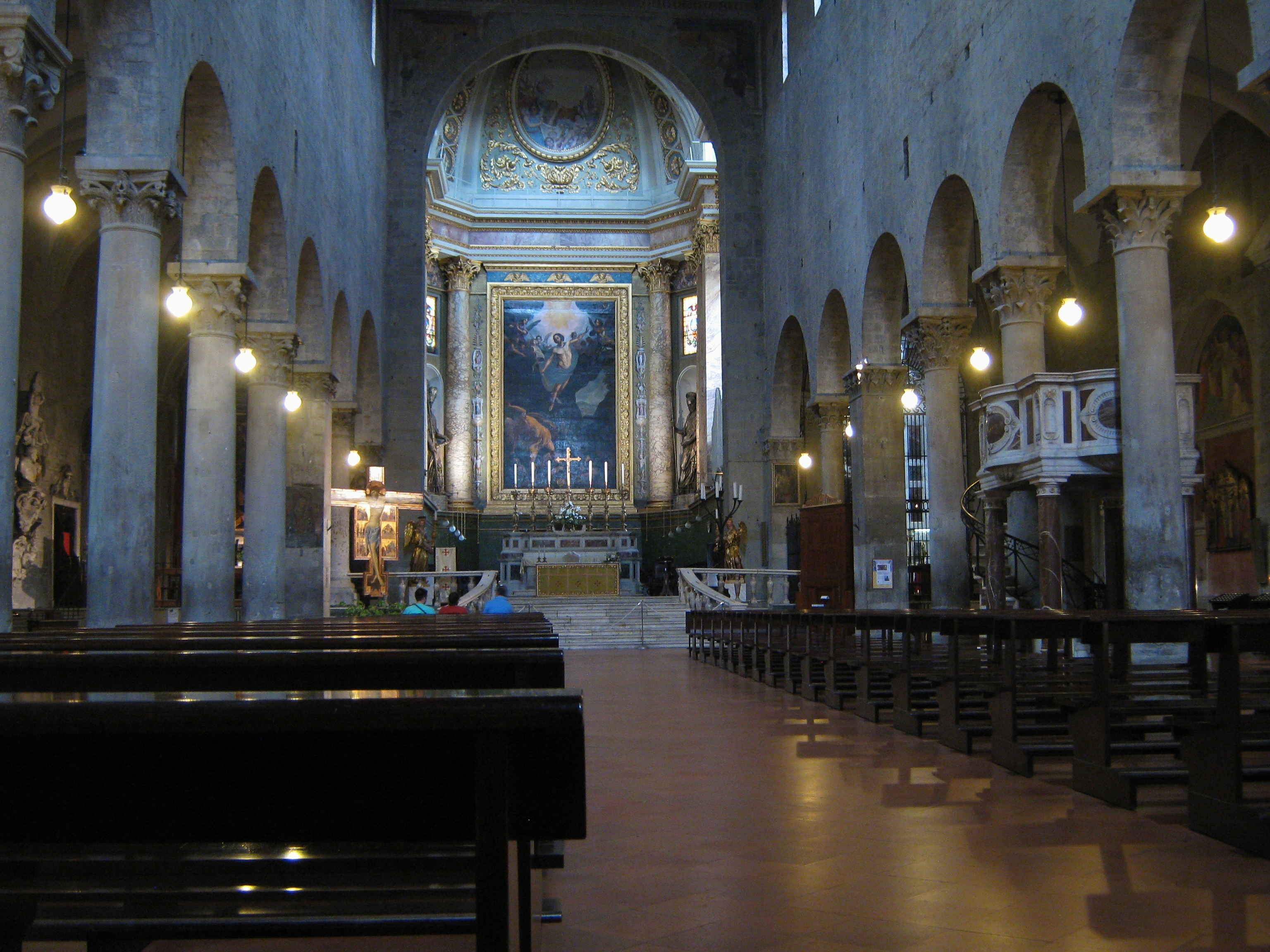 Datei Pistoia Duomo Interno 1 Jpg Wikipedia