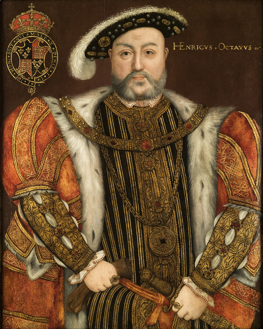 Description portrait of king henry viii