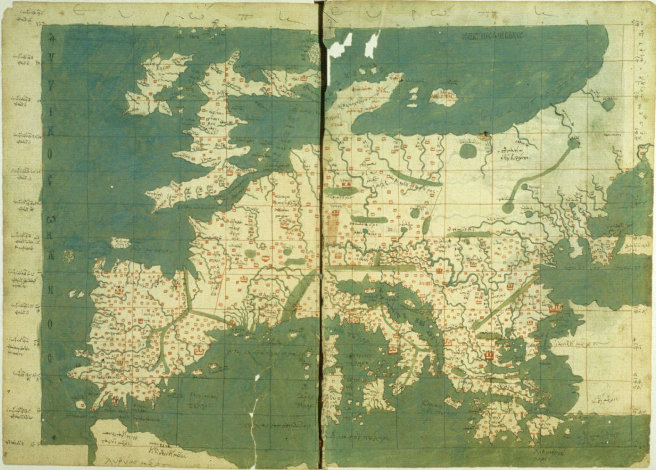 FilePtolemaic Europejpg Wikimedia Commons - Europe map 15th century