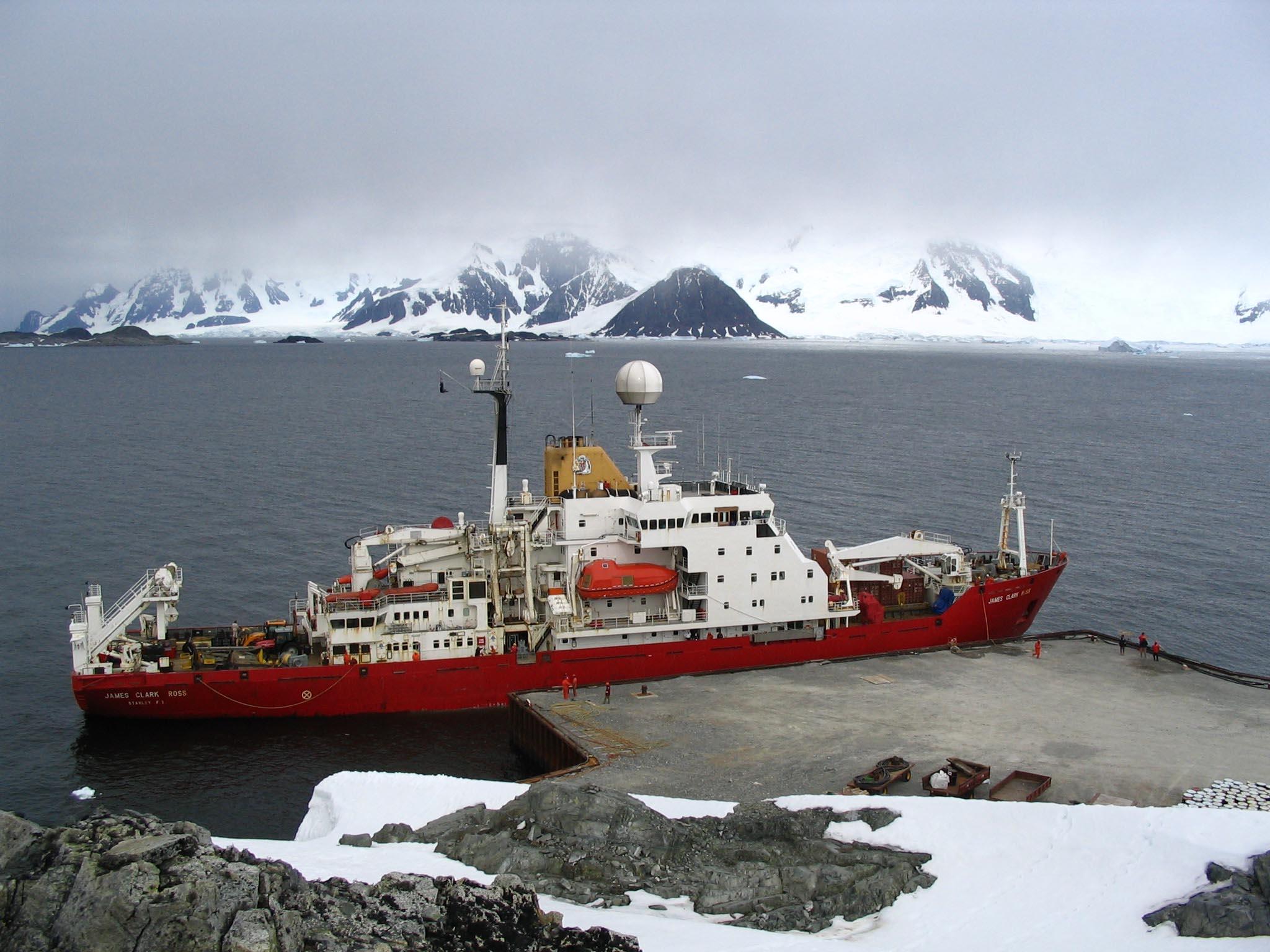 British Antarctic Survey's RRS James Clark Ross