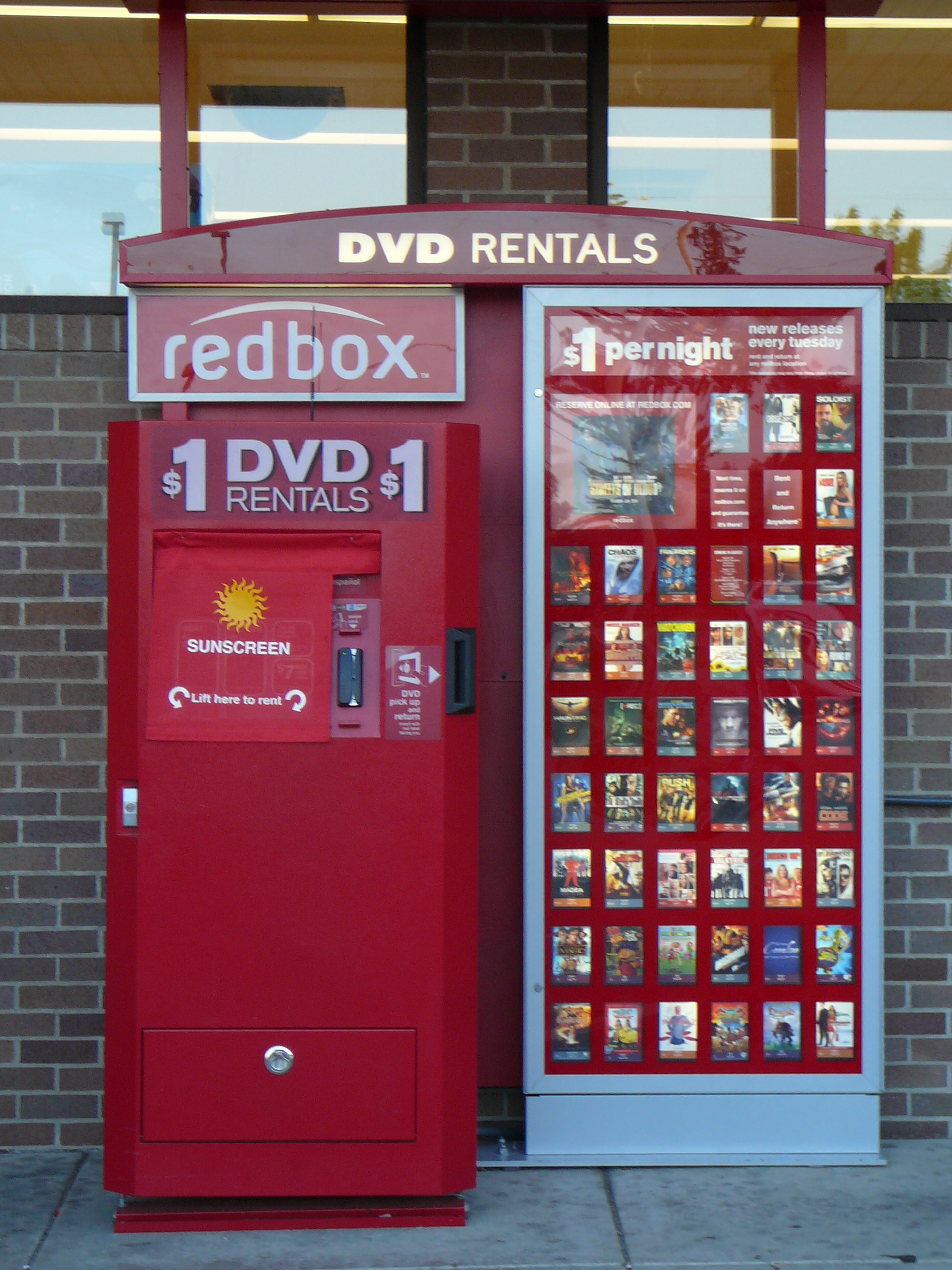Redbox, the kiosk DVD rental service, not only lets you rent physical DVDs that you pick up and drop off at a kiosk, but it also has a collection of online movies and TV shows that you can stream right at home without needing a DVD. Netflix is the closest comparison to Redbox. With both, you can.
