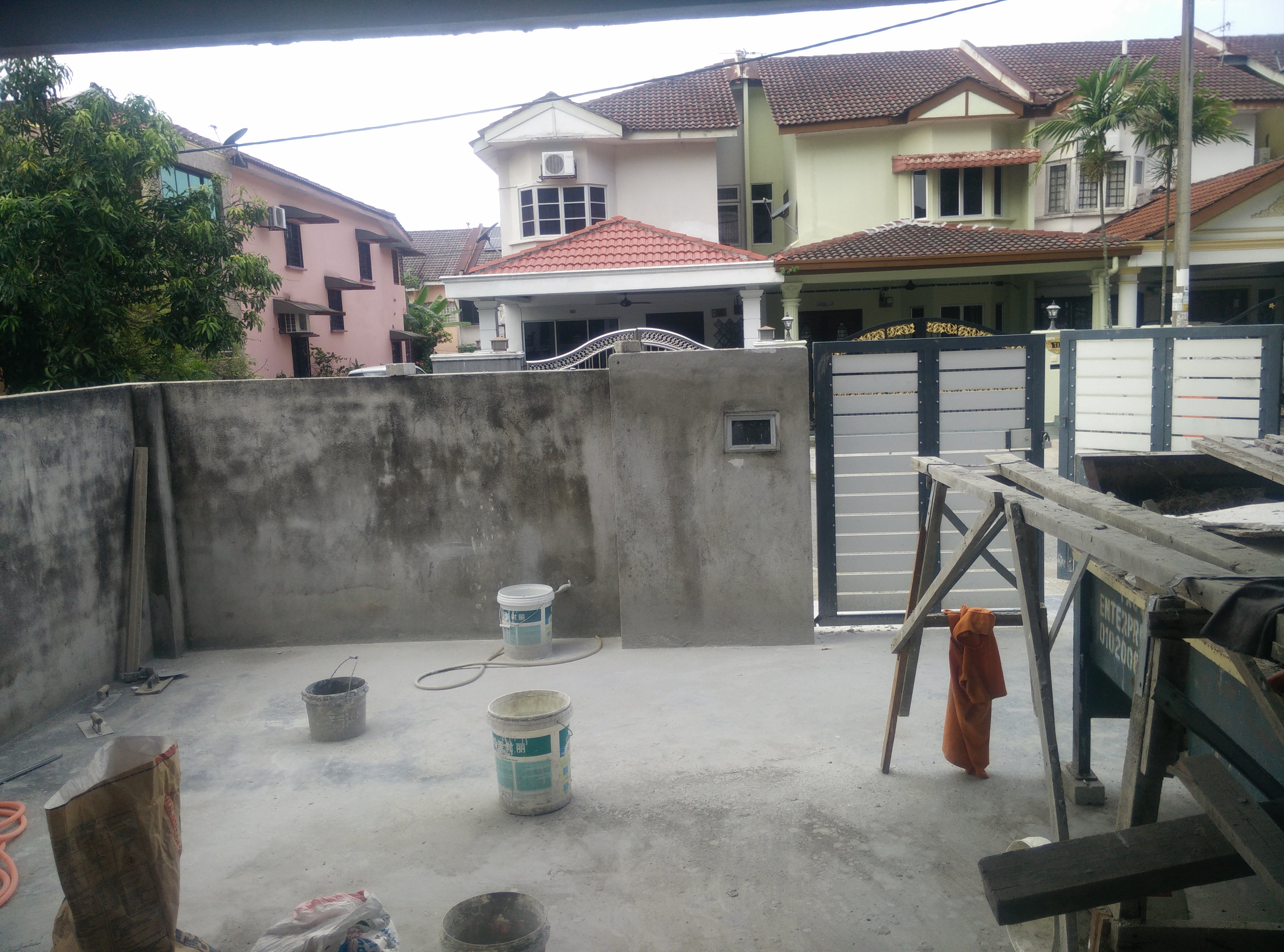 of this work, hereby publish it under the following license: English Renovation work of a two-storey terraced house in Selangor, Malaysia Wikimedia username: