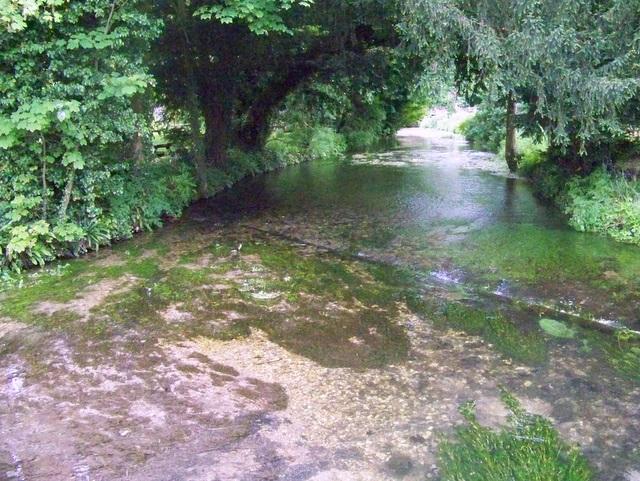 River Meon, Warnford - geograph.org.uk - 1330645