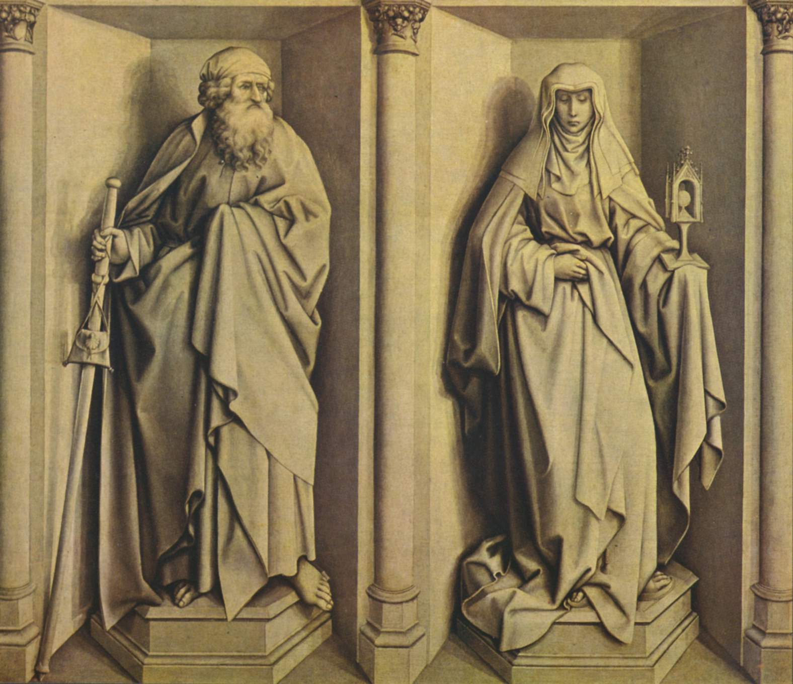 Famous Grisaille Paintings