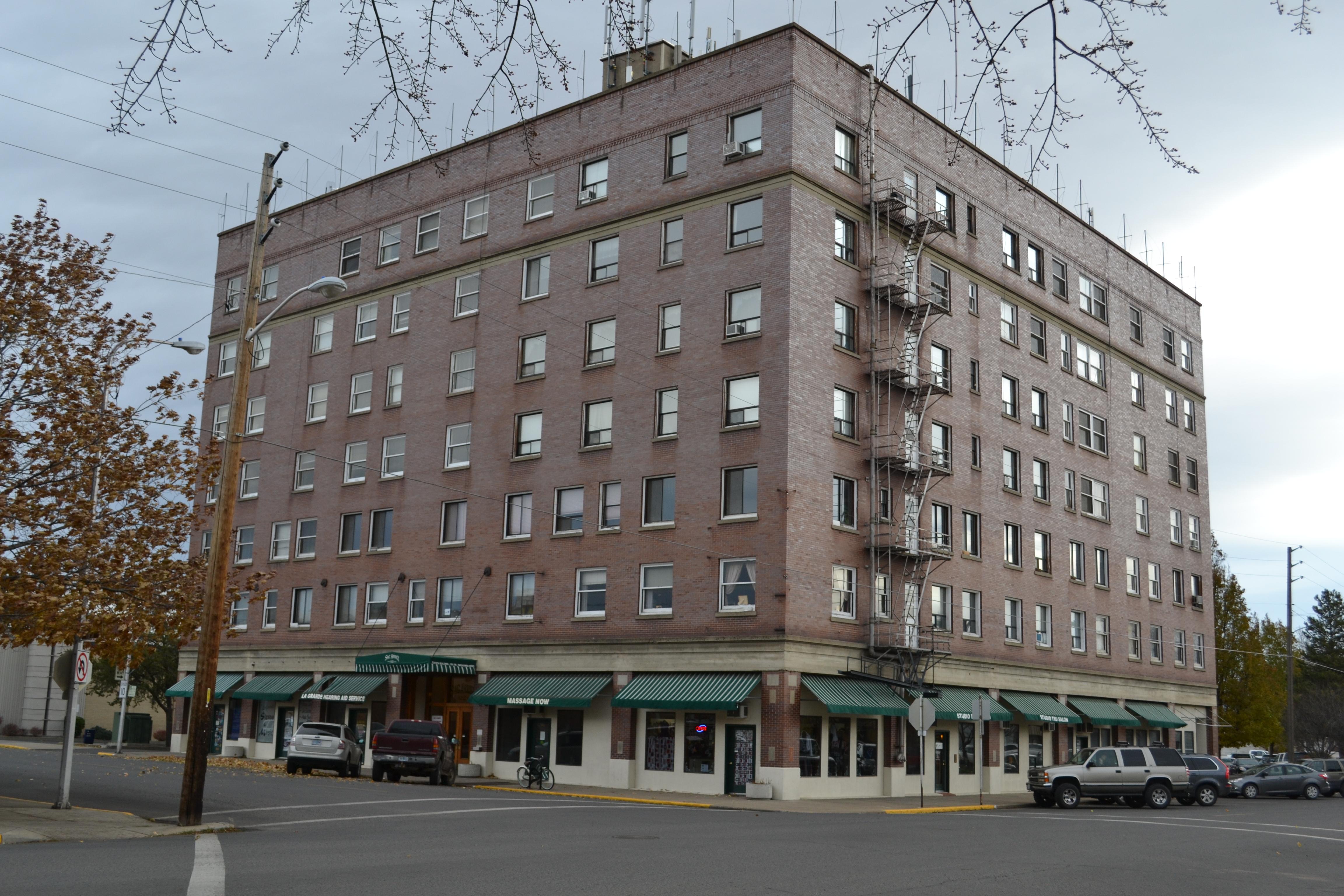 File Roesch Building La Grande Oregon Jpg