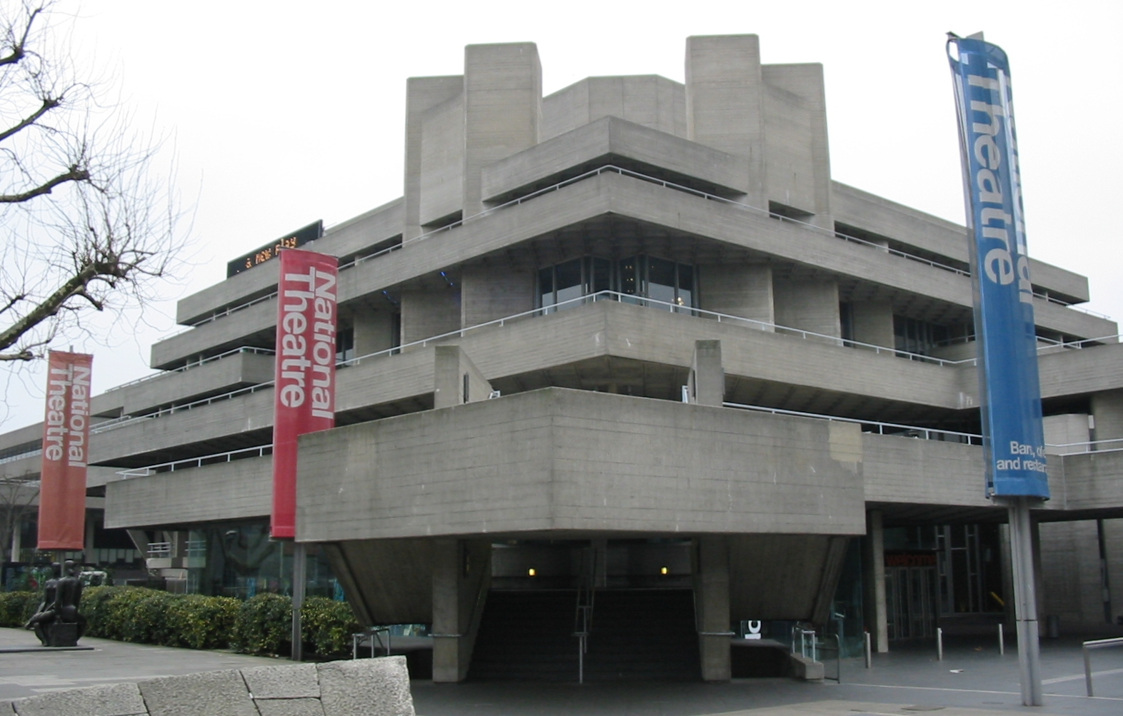 File Royal National Theatre 2 Jpg Wikimedia Commons