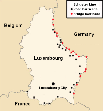 Map Of Germany Luxembourg Belgium.Schuster Line Wikipedia