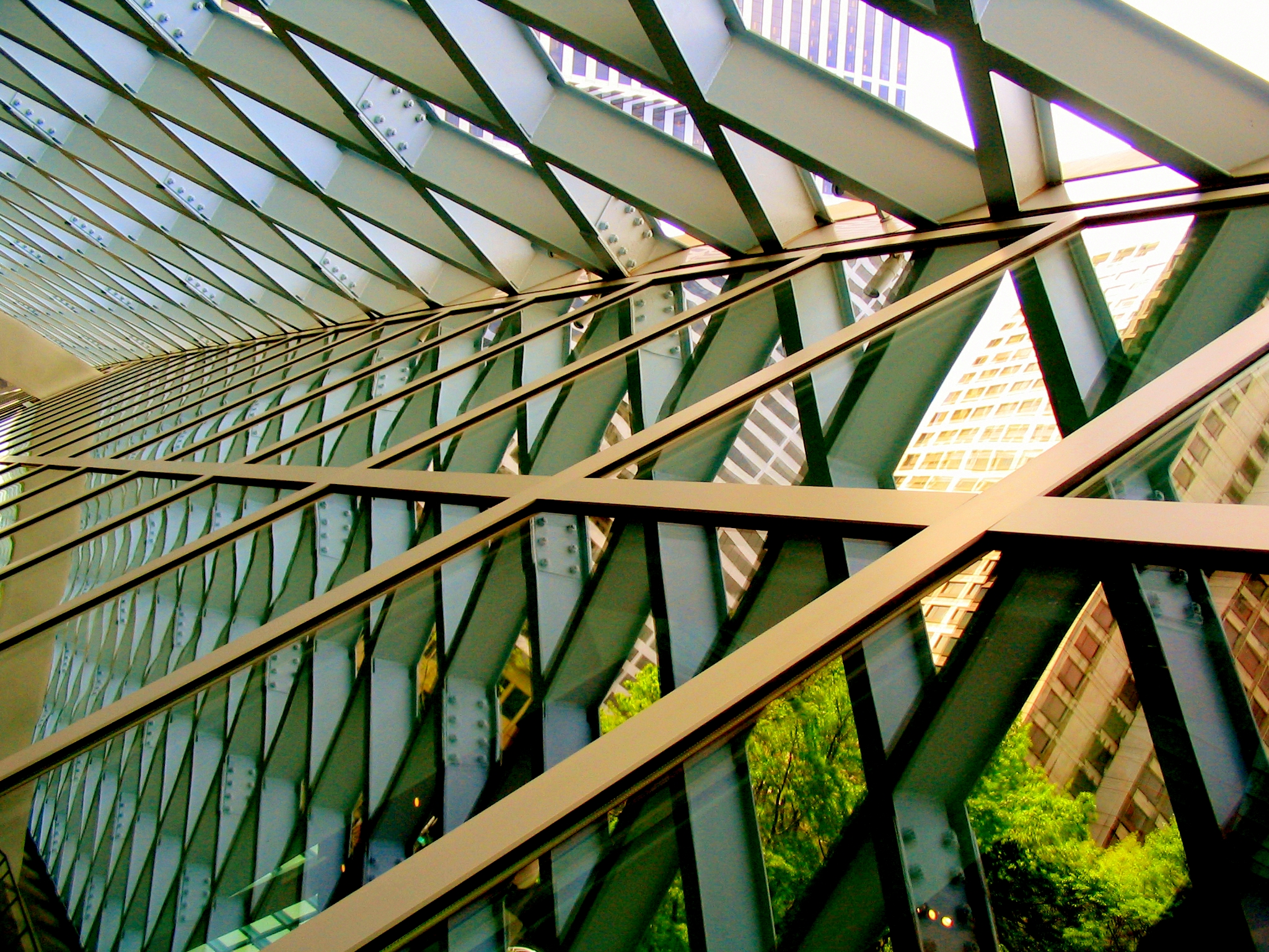 File Seattle Library Framework Inside Jpg Wikimedia Commons