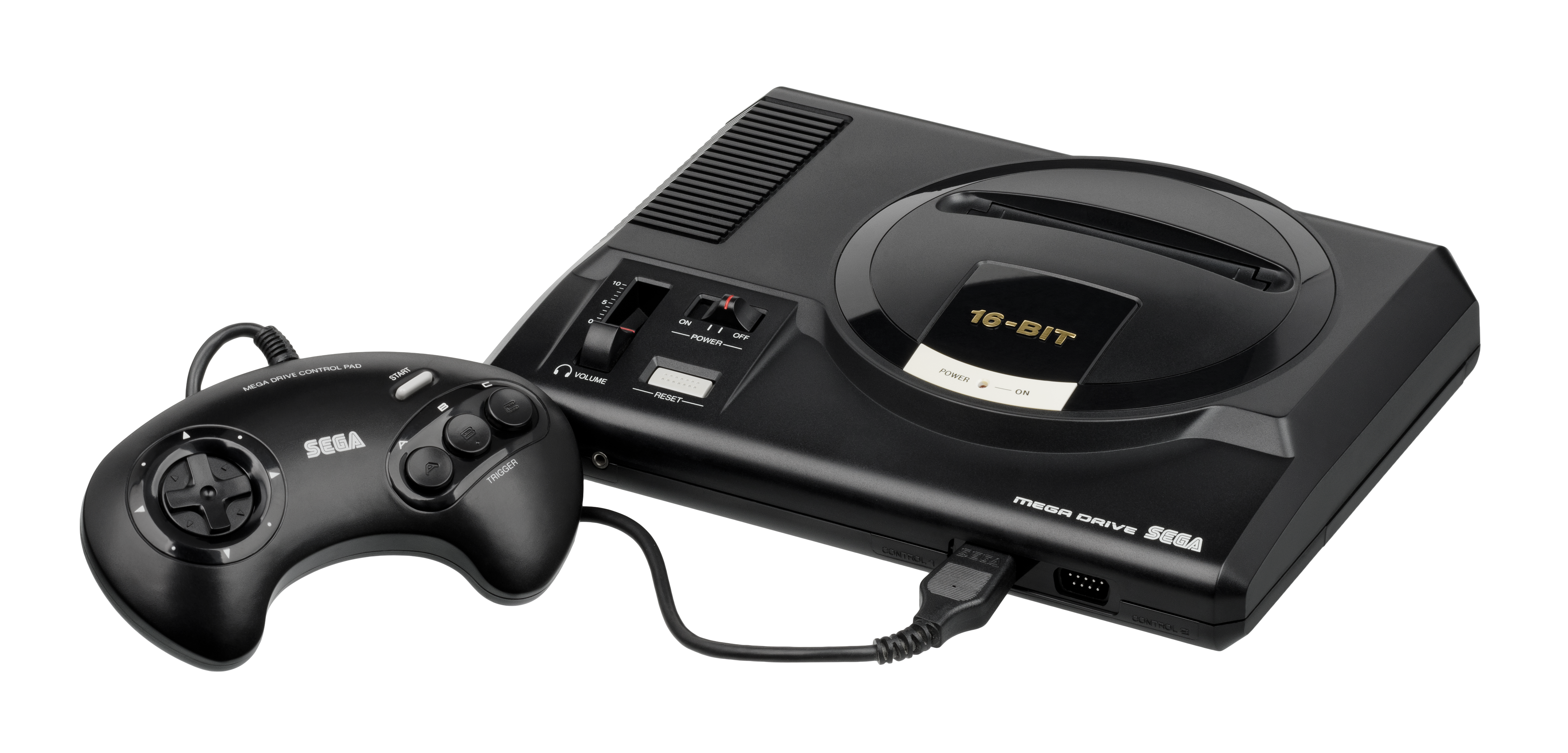 File Sega Mega Drive Eu Mk1 Wcontroller Fl Png Wikimedia