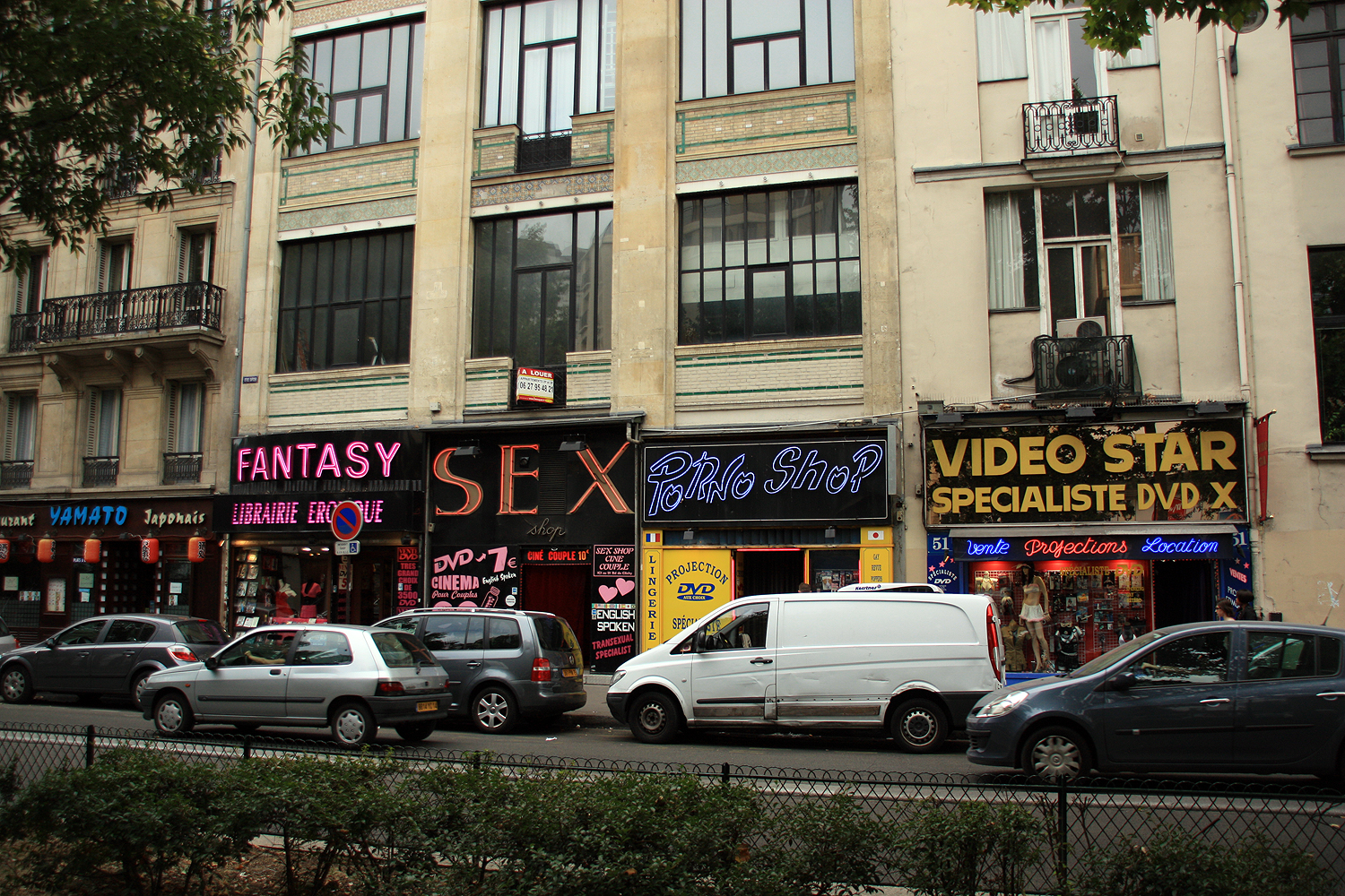 Vidéo porno video shop