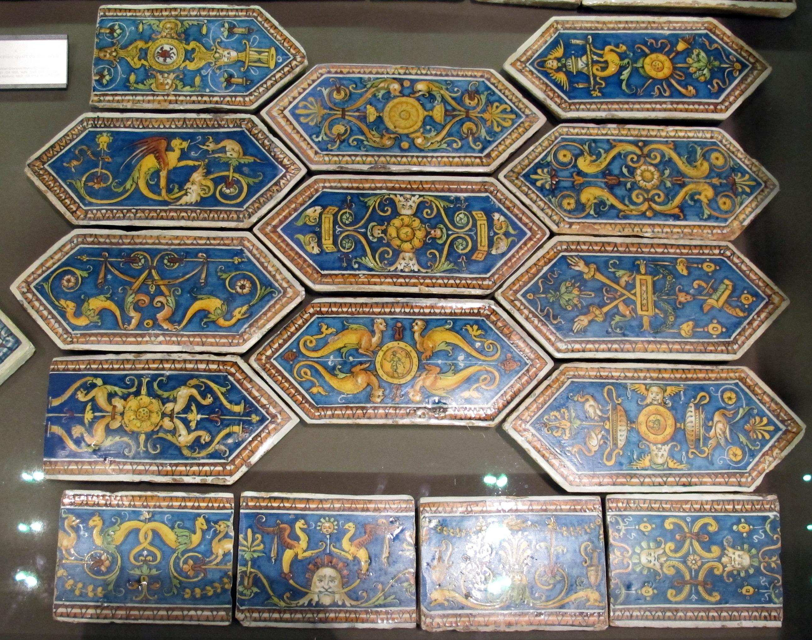 Mattonelle pavimenti mattonelle a spacco naturale blu acqua with mattonelle come un bagno - Verniciare piastrelle pavimento ...