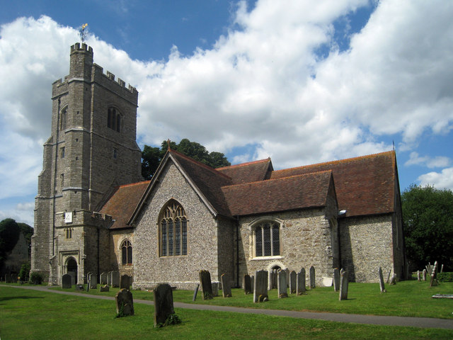 St Peter's Church, Market Place, Charing, Kent - geograph.org.uk - 1393920