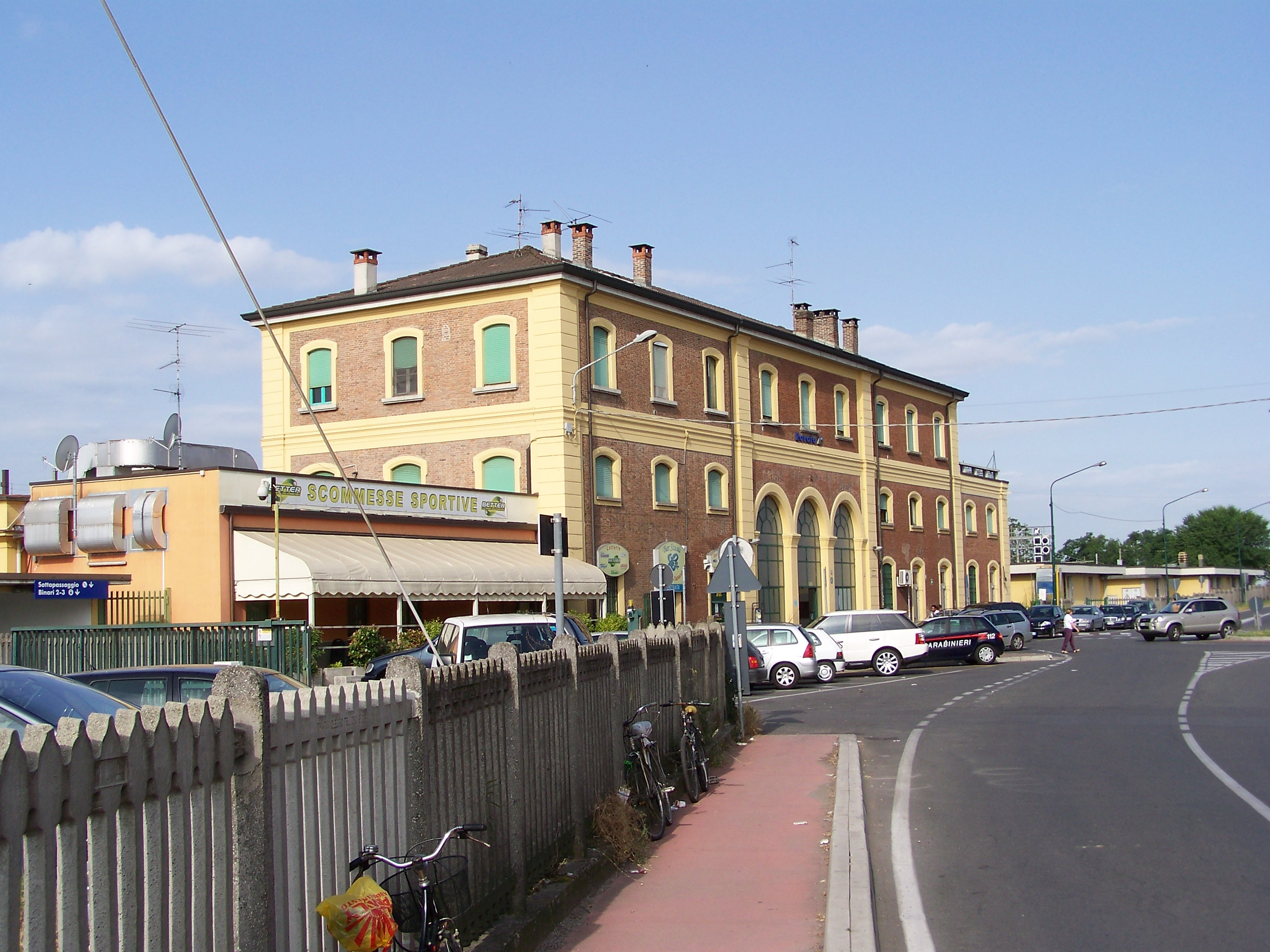 File Stazione Di Rovato Lato Campagna