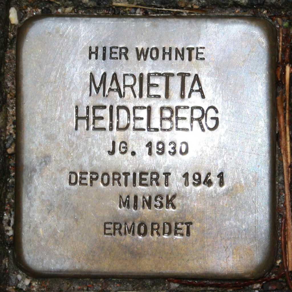 Stolperstein Marietta Heidelberg Wuppertal.jpg