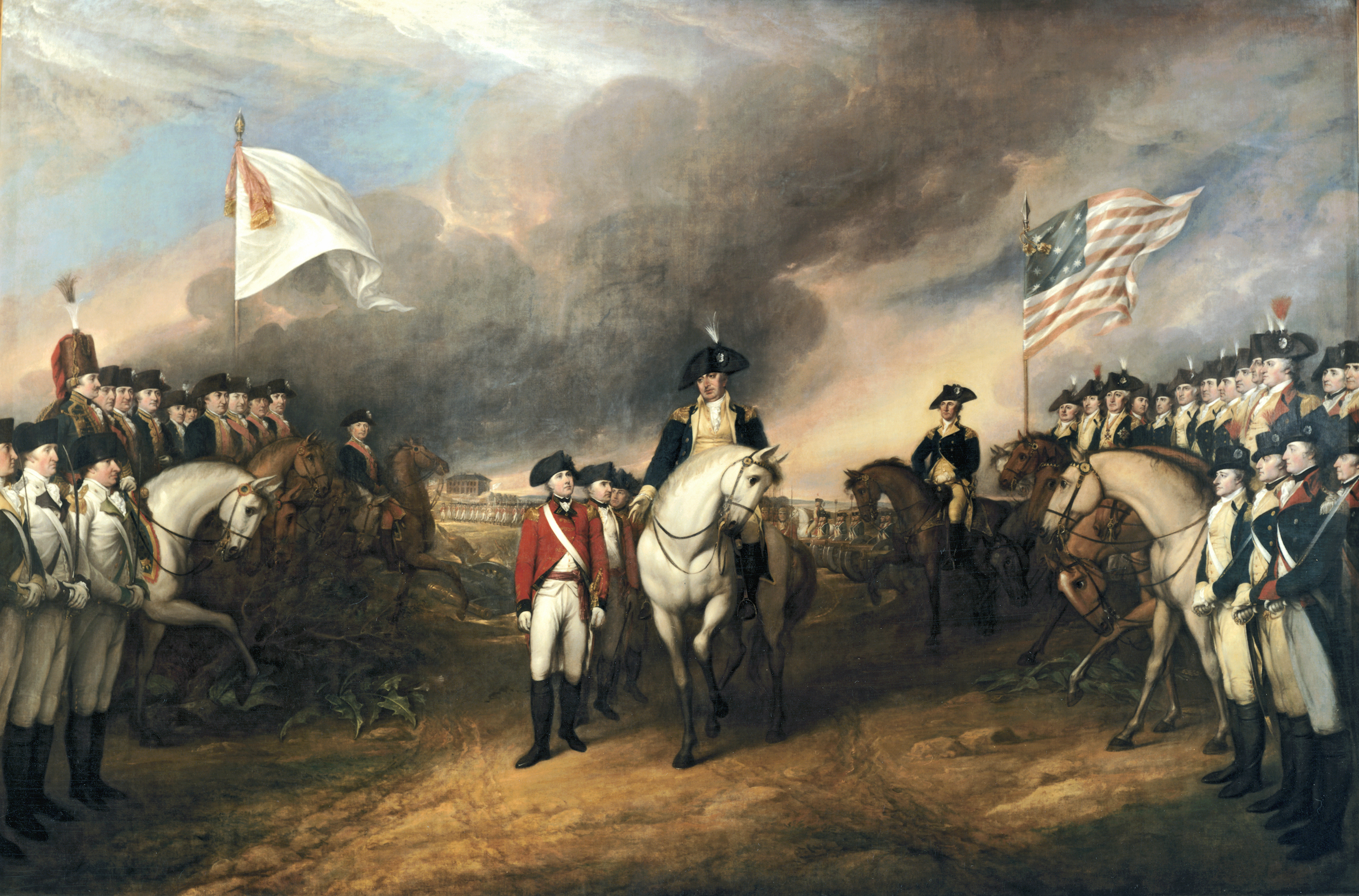 John Trumbull: The Surrender of Lord Cornwallis